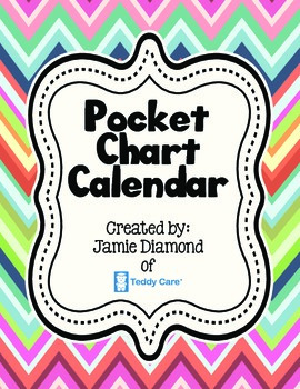 Pocket Chart Calendar for Southern Hemisphere