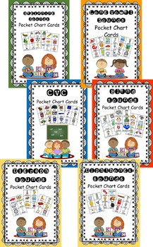 Pocket Chart Cards Bundle