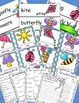 Spring Fun Pocket Chart Cards and Writing Activities Pages