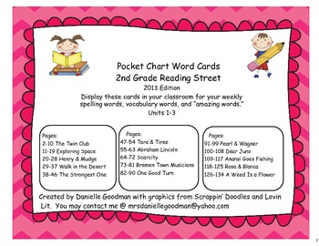 Reading Street 2013 Grade 2 Spelling, Vocab, & Amazing Wor