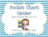 Pocket Chart Center Aligned With Read Well K Units 11-20