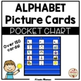 Pocket Chart Center - Alphabet Picture Cards Sort