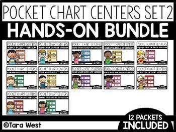Pocket Chart Centers SET TWO BUNDLED