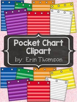 Pocket Chart Clipart