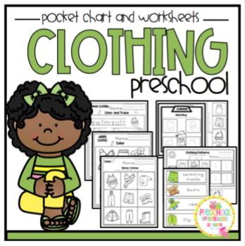 Pocket Chart Clothing Sort