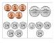 Pocket Chart Coin Sorting Station