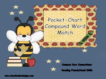 Pocket Chart Compound Word Match Game