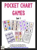 Pocket Chart Concentration Games: Set 1