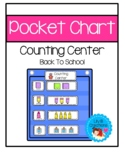 Pocket Chart Counting Center - Back To School