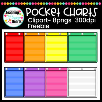 Pocket Chart {Free Clipart}