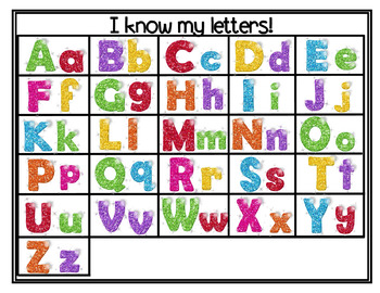 Pocket Chart Fun: Find Me (Beginning sounds and ABC Match)