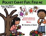 Pocket Chart Fun: Find Me (Raking Leaves ABC match/ beginn