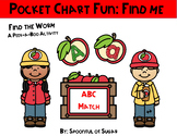 Pocket Chart Fun: Find Me (Upper/Lowercase Matching)