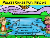 Pocket Chart Fun: Fishing Find Me (ABC and Beginning Sound)