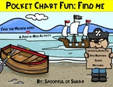 Pocket Chart Fun: Pirates Find Me (ABC and Beginning Sound Match)