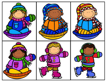 Pocket Chart Graphing Activities (Winter/Christmas Theme)