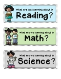 Pocket Chart Headers for Your Essential Questions