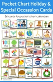 Pocket Chart Holiday and Special Occassion Cards