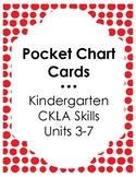 Pocket Chart Letter Cards