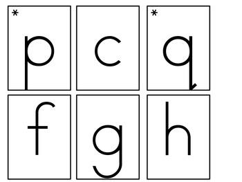 Pocket Chart Letters