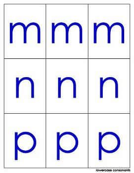 Pocket Chart Letters and Sounds
