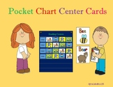 Pocket Chart Literacy Center Cards