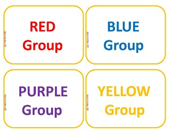Pocket Chart Literacy Center Cards