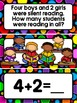 Pocket Chart Math ~ Addition Word Problems