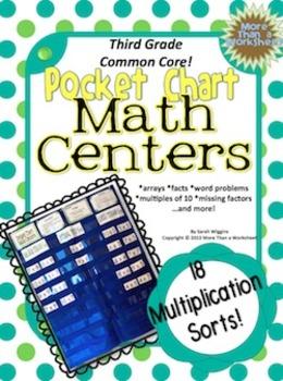 Multiplication Sorts (Third Grade)