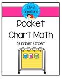 Pocket Chart Math - Number Order