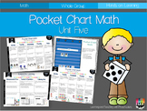 Pocket Chart Math Unit Five