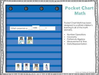 Pocket Chart Math Unit Five