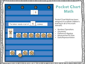 Pocket Chart Math Unit Four