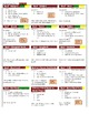Pocket Chart Meal Planning Kit