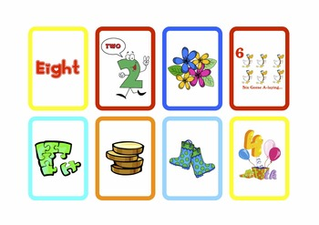 Pocket Chart Numbers 1-10 Matching Practice C/C Aligned
