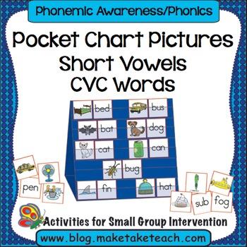 Short Vowels / Consonant-Vowel-Consonant Words - Pocket Ch