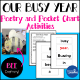 End of the Year Activities: Pocket Chart Poem and Bee Craft