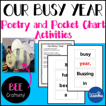 End of the Year Activities: Pocket Chart Poem and Craft