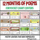 Monthly Poems {Pocket Chart BUNDLE}