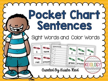 Pocket Chart Scrambled Sentences