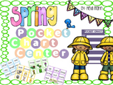 Pocket Chart Sentence Building Center {{Spring Version}}