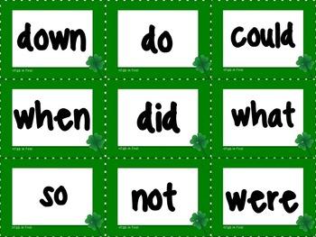 Pocket Chart Sentence Building Center {{St. Patrick's Day March Version}}