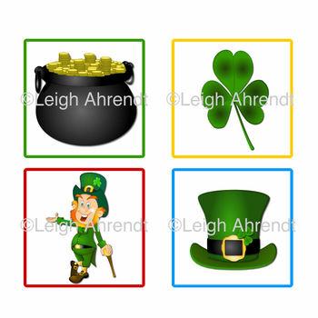 Pocket Chart Sentence Mix Up - March - St. Patrick's Day