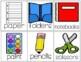 Pocket Chart Sentence Stems for Beginning Readers
