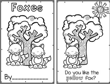 Pocket Chart Sentences With Student Books (Forest Theme)