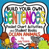 Pocket Chart Sentences With Student Books (OceanTheme)