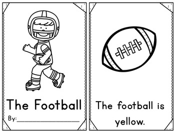 Pocket Chart Sight Word Center Football Edition: The