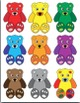 Pocket Chart Sight Word & Writing Center ~ Bears ~ for - me