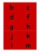 Alphabet Cards for Pocket Chart - MINI (OG)