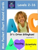 Alphabet Cards for Pocket Chart - MINI (OG)